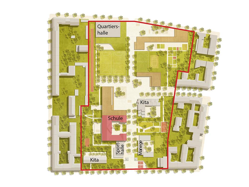 Kondius - campus ruetli spatenstich